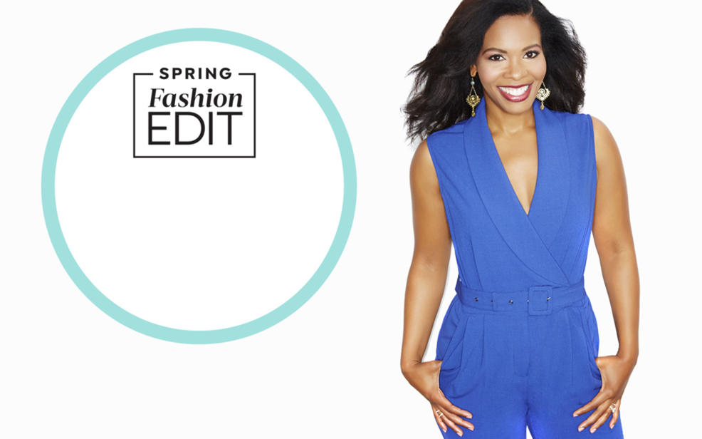 Spring Fashion Edit. Tamara Hooks smiling