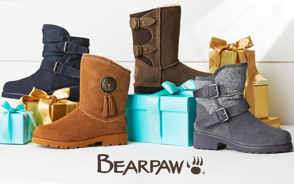 Suede Boot Bearpaw® Sheepskin Fringe Neverwet� With Christie dBWrCeox