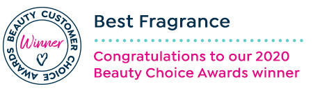 Beauty customer choice awards. best fragrance. congratulations to our 2020 beauty choice awards winner