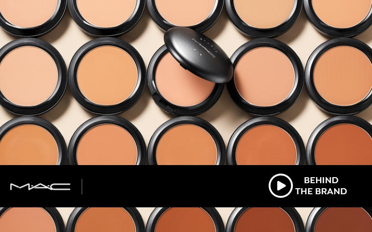 MAC Cosmetics foundations in sink hues