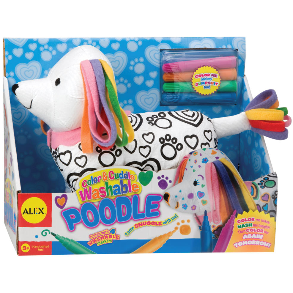 Color And Cuddle Washable Kit - Poodle