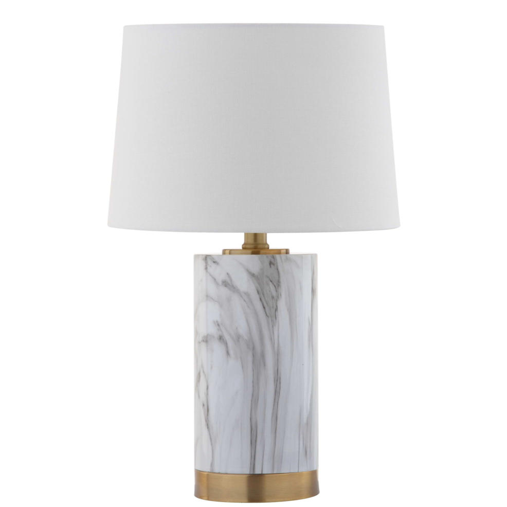 Safavieh Clarabel Marble 18.25-Inch Table Lamp