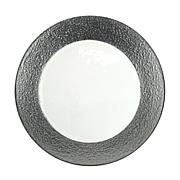 """10 Strawberry St Colored Rim 13"""" Charger Plate - 6"""