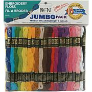 105-Skein Cotton Embroidery Floss Jumbo Value Pack
