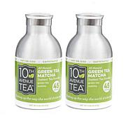10th Avenue Tea Organic Instant Green Tea - 2-pack