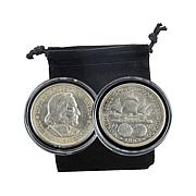 1892 & 1893 Christopher Columbus Silver Half Dollar Set