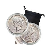 1922 S-Mint Uncirculated Silver Peace Dollar Coin