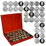 1971 – 1978 Complete BU Eisenhower Silver Dollars 32-Coin Set