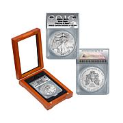 2016 MS70 ANACS FDOI LE Silver Eagle Dollar Coin