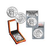 2016 PR70 ANACS FDOI LE 33 DCAM $100 Platinum Eagle