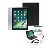 """2018 Apple iPad® 9.7"""" 128GB Tablet with Keyboard Case - Space Gray"""