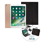 "2018 Apple iPad® 9.7"" Tablet w/Keyboard Case & Sleeve"