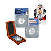 2019 JFK Half Dollar and United States Mint Rocketship Coins