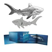 2020 Reverse Proof LE 2,500 Tiger Shark $2 Silver Coin