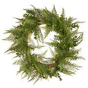"22"" Artificial Boston Fern Wreath"