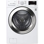 4.5 Cu. Ft. Ultra Large Smart Wi-Fi Enabled Front Load Washer - White