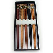 5 Pair Wooden Chopsticks