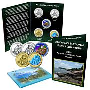 5-piece 2012 Acadia National Park Quarters