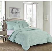 5pcs Sea Glass Comforter Queen Set