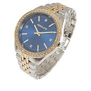 Absolute™ Cubic Zirconia Colored Dial Bracelet Watch