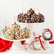 Affy Tapple 12-piece Holiday Chocolate Chip Caramel Apples