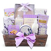 Alder Creek Gift Baskets - Relaxing Lavender Spa Gift