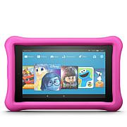 "Amazon Fire Kids 7"" 16GB Tablet w/Bumper, 2-Year Warranty and 8 eBooks"
