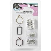American Crafts 58-piece Color Pour Resin Jewelry Kit