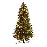 American Tree & Wreath™ 6-1/2' Starry Light Tree with EZ Power
