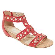 Andrew Geller Ideana Cork Wedge Gladiator Sandal