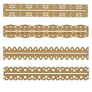 Anna Griffin® 3D Holiday Border Dies - Set of 4