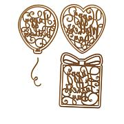 Anna Griffin® Calligraphic Sentiment Dies
