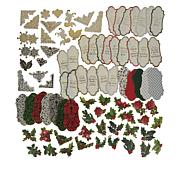 Anna Griffin® Holiday Flip Embellishments and Sentiments