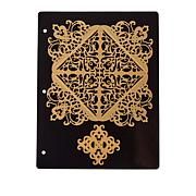 Anna Griffin® Le Coin Criss Cross Square Card Dies