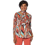 """Antthony """"Dream in Color"""" 2-pack Tops with Scarf"""