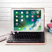 "Apple iPad® 9.7"" Tablet with Keyboard Case and Wireless Earbuds"