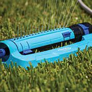 Aqua Joe Turbo Oscillation Lawn Sprinkler