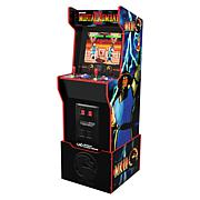 Arcade1Up Mortal Kombat 12-Game Legacy Ed. w/Riser, Light-Up Marquee