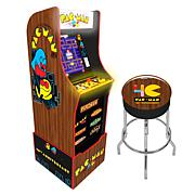 Arcade1Up PAC-MAN 40th Anniversary Special Edition with Riser & Stool