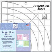 """Around The Block Ruler - 8"""" x 8"""""""