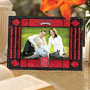 Art Glass Horizontal Photo Frame - NC State University