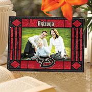 Art Glass Horizontal Picture Frame - AZ Diamondbacks
