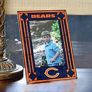 Art Glass Team Photo Frame - Chicago Bears - NFL