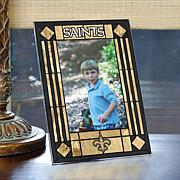 Art Glass Team Photo Frame - New Orlean Saints - NFL