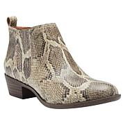 """""""As Is"""" Lucky Brand Bimare Leather or Suede Ankle Bootie"""