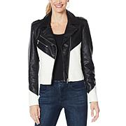 """As Is"" Skinnygirl Phenominal Moto Jacket"