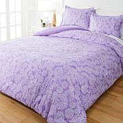 """As Is"" South Street Loft 3-piece Printed Comforter Set"