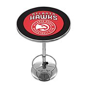 Atlanta Hawks NBA Chrome Pub Table
