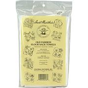Aunt Martha's Stitch 'Em Up Flour Sack Towels 33X38 2/Pkg - White