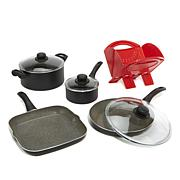 Ballarini Matera 8-piece Nonstick Cookware Set